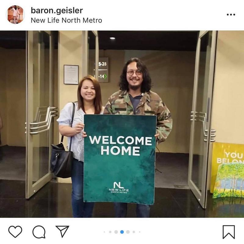 LOOK: Meet Baron Geisler's future Mrs. Geisler