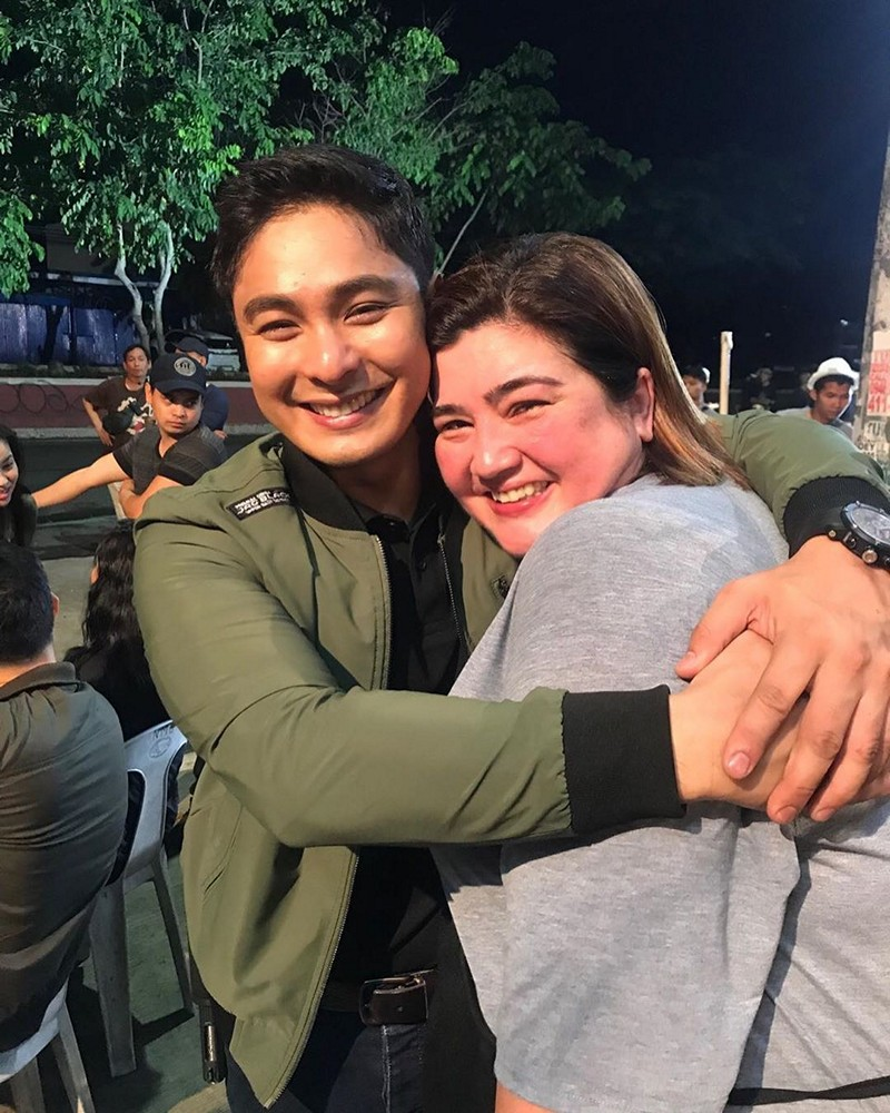 LOOK: Nadia, Ynna gush over FPJ's Ang Probinsyano stint in these BTS photos