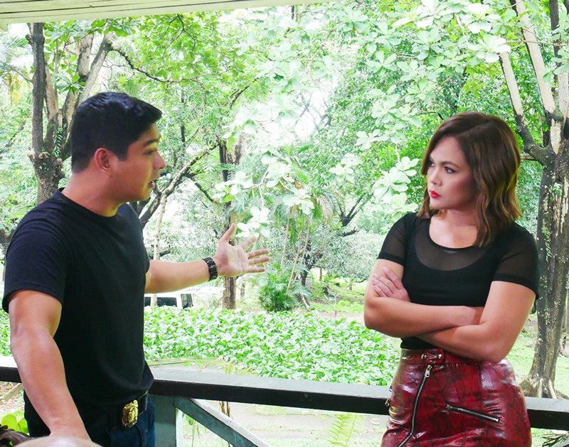 LOOK: Judy Ann's first taping day in FPJ's Ang Probinsyano
