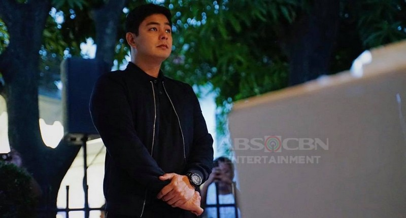"IN PHOTOS: Coco Martin pays his respects to ""Da King"" Fernando Poe Jr"